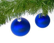 Free Christmas Balls Royalty Free Stock Photography - 16354767