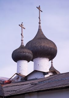 Free Orthodox Church With Cross Stock Photography - 16355182