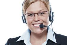 Free Operator Stock Image - 16355341