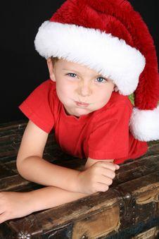 Free Christmas Boy Royalty Free Stock Photo - 16356225