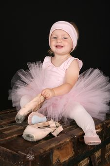 Free Ballet Toddler Stock Photo - 16356290