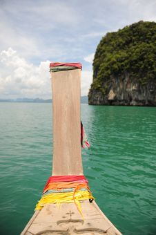Free Thai Longtail Boat Stock Photos - 16356293