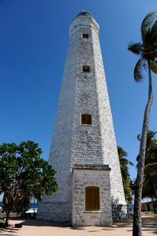 Free Lighthouse Between Palms Stock Photos - 16356943