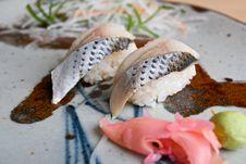 Free Japanese Sushi. Stock Images - 16357484
