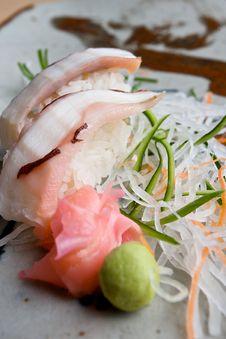 Free Japanese Sushi Dish. Stock Images - 16357504