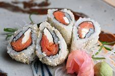 Free Sushi Dish. Royalty Free Stock Photography - 16357507