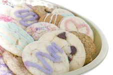 Free Homemade Cookies Close Up Stock Photos - 16357513