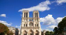 Free Notre Dame Of Paris Facade Stock Photos - 16357533