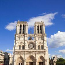 Free Notre Dame Of Paris Facade Stock Photography - 16357612