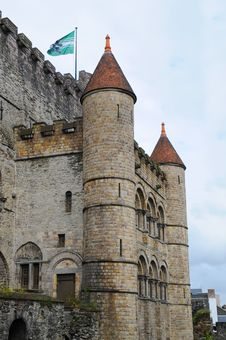 Free Castle Towers Royalty Free Stock Photos - 16357778