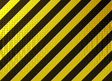 Free Grungy Hazard Stripes Stock Images - 16358264
