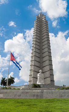 Free Vertical View Of The Jose Marti Memorial In Havana Stock Image - 16358311