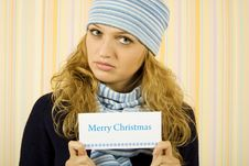 Free Congratulations On Christmas Royalty Free Stock Image - 16358676