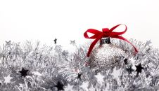 Free Baubles And Holly Stock Photos - 16359413