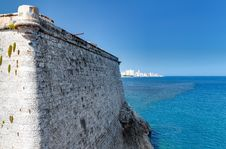 Free The Walls Of El Morro In Havana Stock Images - 16359544