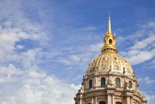 Free Dome Of Les Invalides Stock Photo - 16359580