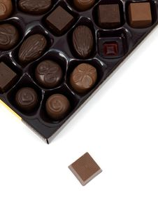 Free Chocolate Gift Box Stock Photo - 16359670