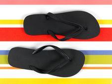 Free Black Thongs Stock Photos - 16359773