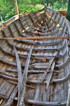 Free Old Wooden Boat Royalty Free Stock Photography - 16359967