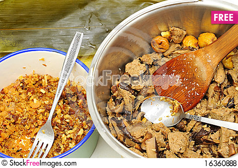 Free Food Ingredients For Oriental Cuisine Royalty Free Stock Photos - 16360888