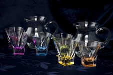 Free Pitcher And Glasses 1 Stock Image - 16360071
