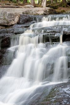 Free Small Ontario Waterfall Royalty Free Stock Image - 16360896