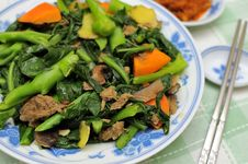 Free Asian Style Mixed Vegetable Delicacy Royalty Free Stock Images - 16360979