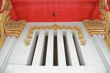 Free Window In Temple Stock Photo - 16361330
