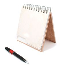 Diary With A Pen Royalty Free Stock Image