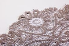 Free Part Of Lace Macro Royalty Free Stock Photos - 16361408