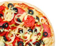 Free Pizza Royalty Free Stock Photography - 16362087