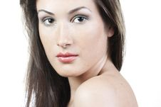 Free Woman With Beautiful Make-up Royalty Free Stock Photos - 16362288