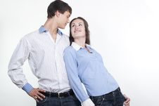 Free Beautiful Young Happy Couple Stock Photos - 16362353