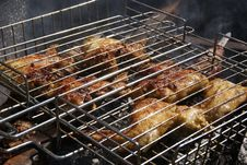 Free Grilled Chicken Royalty Free Stock Photography - 16364907