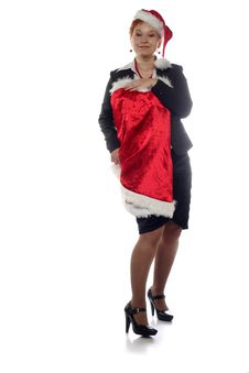 Free Office Girl Is Trying On New Year Dress Royalty Free Stock Photos - 16365218
