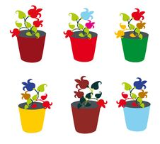 Free Flower Pot Stock Photos - 16365453