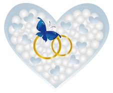 Free Heart Butterfly Stock Photo - 16365510