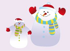 Free Snowman Royalty Free Stock Photos - 16365528