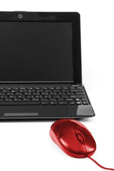 Free Laptop And Computer Mouse Stock Photo - 16365650