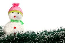 Free Toy Decoration Snowman Royalty Free Stock Photo - 16365675