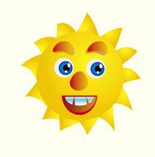 Free Cartoon Sun Stock Photography - 16366012