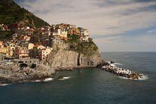 Free Manarola Village, Italy Royalty Free Stock Photography - 16366067