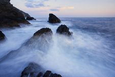 Free Dramatic Seascape Stock Image - 16366131