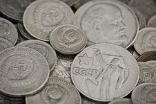 Free Soviet Obsolete Coins Stock Photo - 16366190