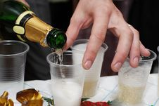 Free Champagne Royalty Free Stock Photography - 16366247