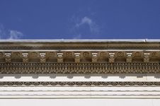 Closeup With Architectural Details Stock Image