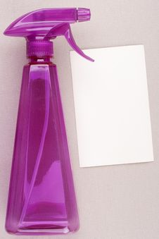 Free Plastic Spray Royalty Free Stock Photography - 16367647