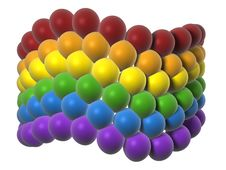 Free LGBT Flag In Balloons Stock Photography - 16368492