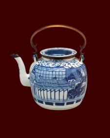 Free Thai Vase 01 Stock Photos - 16369723