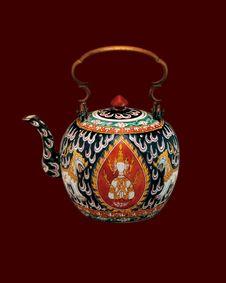 Free Thai Vase 02 Royalty Free Stock Photos - 16369728